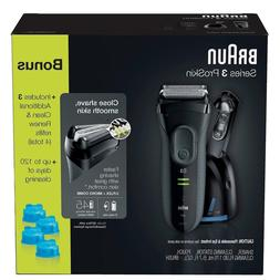 BrAun Series 3 Shaver for Men - Faster Shaving w/ Comfort