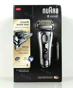 BRAUN Series 9 9290cc Men's Electric Shaver Wet/Dry +Clean a
