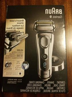 Braun Series 9 9293s Wet and Dry Electric Foil Shaver +Charg
