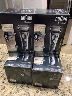 Braun Series 9 9295cc Electric Shaver + Clean and Charge Sys