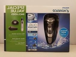 Philips Norelco Shaver 4300 AT850/46 w/ BONUS Nose & Ear Tri