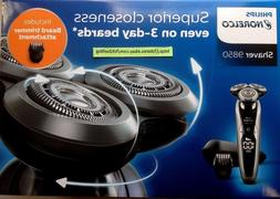 Philips Norelco Shaver 9850 Includes Beard Trimmer attachmen