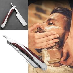 Shaver Manual Barber Razor Stainless Steel Straight Razor  F