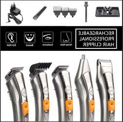 KEMEI Shaver Pro Hair Cutting Clipper Haircut Beard Barber T