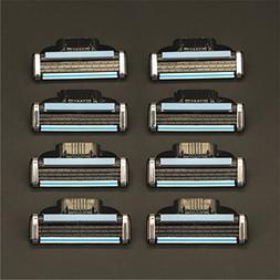 4Pcs/Shaver Razor Blades Quality A+++ Cassette Shaving Blade