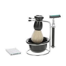 4 In 1 Men's Shaving Brush Razor Set Pro Shaving Holder + Ra