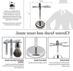 GBS Brush and Razor Stand Keep Your Shaving Accessories Dry