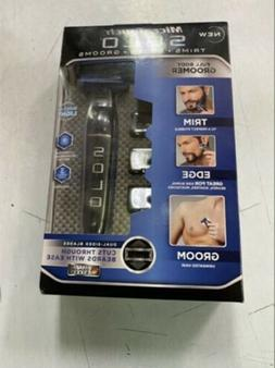 SOLO Rechargeable Trimmer Razor Shaver Edges W/3 Combs Elect
