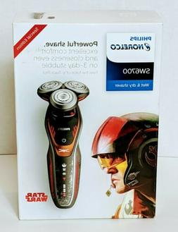 NEW Philips Norelco Special Edition Star Wars Poe Wet Dry El