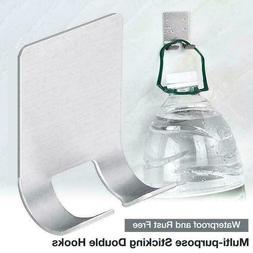 Stainless Steel Shaver Shelf Razor Holder Self Adhesive Razo