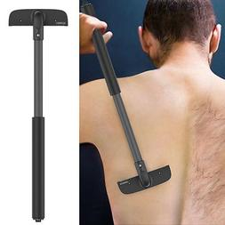 Stretchab Back Hair Shaver Remover Dry Wet Men Back Blade To