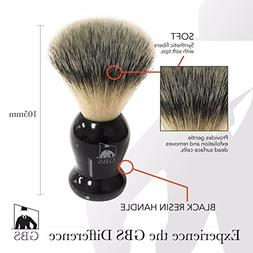 Synthetic Shaving Brush - Super Soft with Black Handle - Com