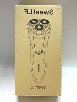 SweetLF SWS7105 Electric Rotary Shaver /razor for Men Blue