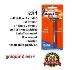 Gillette Trac II Razor cartridge Refills 7 o' clock PII Meta