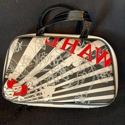 Wahl Travel Makeup Shaver bag Black & White Skull Ships Toda