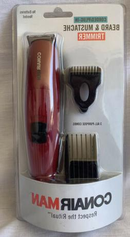 Conair Trimmer Beard and Mustache Corded Plug-In