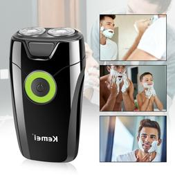 twin blade shaver trimmer razor electric rechargeable