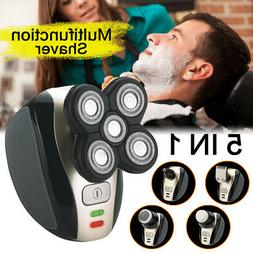 US Men 4D Rotary Electric Shaver Rechargeable Bald Head Shav