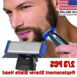 US Men Blade Head Shaver Replacement for Micro-Solo-Electric
