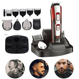 KEMEI USB Rechargeable Cutting Machine Trimmers Shaver Nasal
