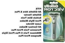 Gillette Vector FT Atra Contour Plus Razor blade Cartridge R
