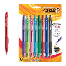 BIC Velocity Bold Fashion Retractable Ball Pen, Bold Point ,