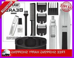 Wahl Mustache And Beard Trimmer Set Shaver Clipper Groomer H