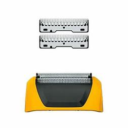 Wahl Yellow Lifeproof Shaver Replacement Foils, Cutters and