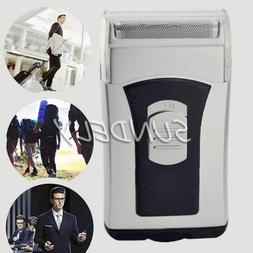 WET AND DRY TRAVEL SMALL MICRO COMPACT SHAVER BATTERY OPERAT
