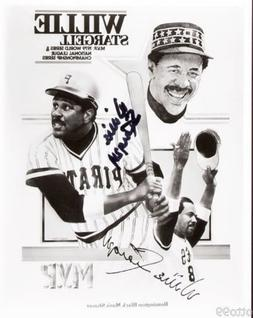 WILLIE STARGELL SIGNED 8x10 PIRATES 1979 WORLD SERIES NLCS M