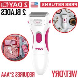 Women Electric Shaver Razor Waterproof Bikini Area Legs Cord