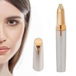 Women Electric Eyebrow Brows Trimmer Face Facial Hair Remove