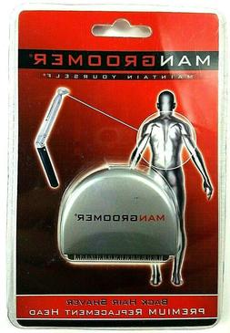 MANGROOMER Do-It-Yourself Electric Back Hair Shaver Premium